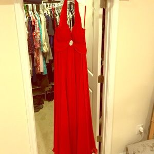 Formal Red Gown